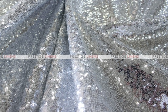 Glamour - Fabric by the yard - Silver