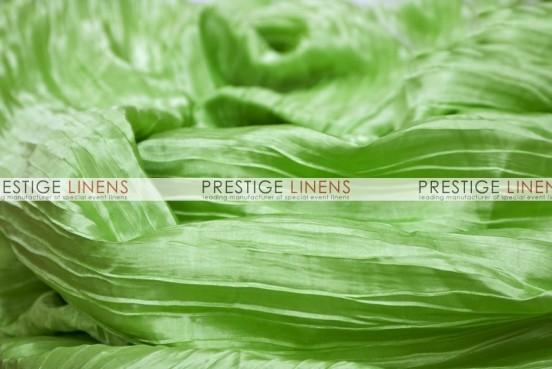 Italian Crush Satin Draping - Lime