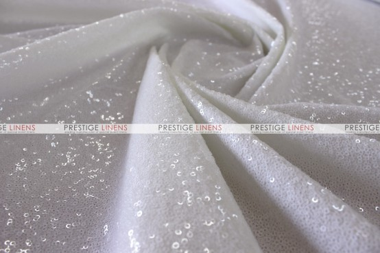 Glamour - Fabric by the yard - White