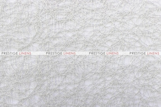 Heather - Fabric by the yard - White