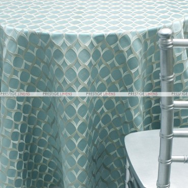 Helix - Fabric by the yard - Aqua