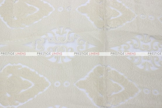 Imperial Damask - Fabric by the yard - Ivory