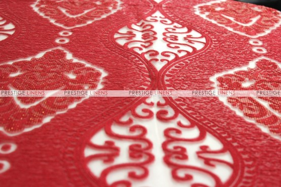 Imperial Damask - Fabric by the yard - Red