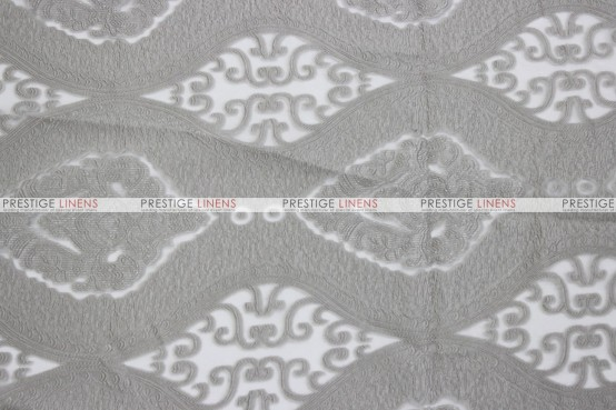 Imperial Damask - Fabric by the yard - Silver