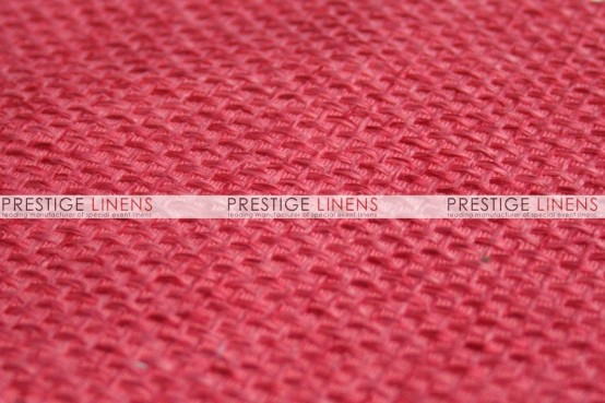 Jute Linen Draping - Coral