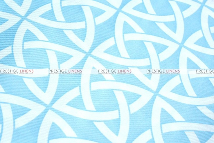 Infinity Print - Fabric by the yard - Blue
