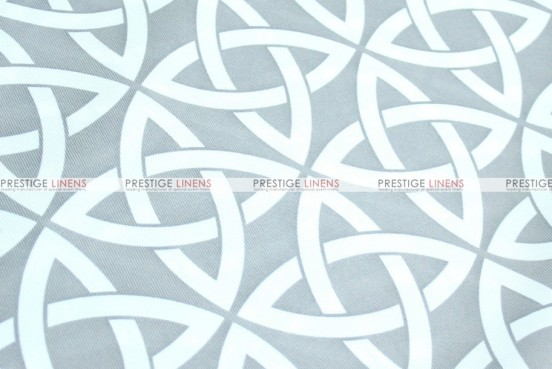 Infinity Print - Fabric by the yard - Grey