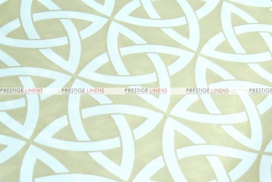 Infinity Print - Fabric by the yard - Khaki
