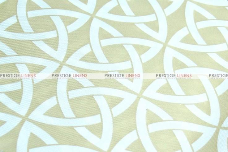 Infinity Print - Fabric by the yard - Khaki