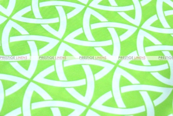 Infinity Print - Fabric by the yard - Kiwi
