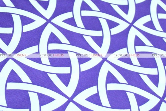 Infinity Print - Fabric by the yard - Purple