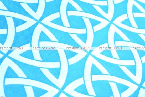 Infinity Print - Fabric by the yard - Turquoise
