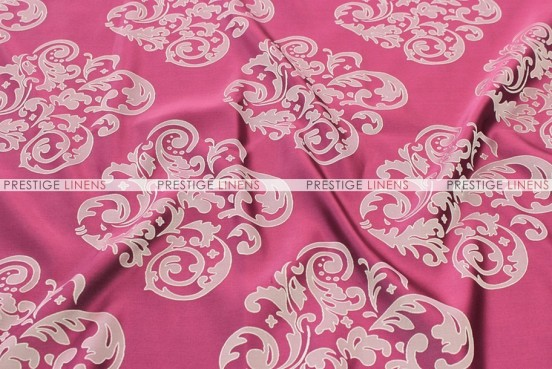 Insignia Jacquard - Fabric by the yard - Fuchsia