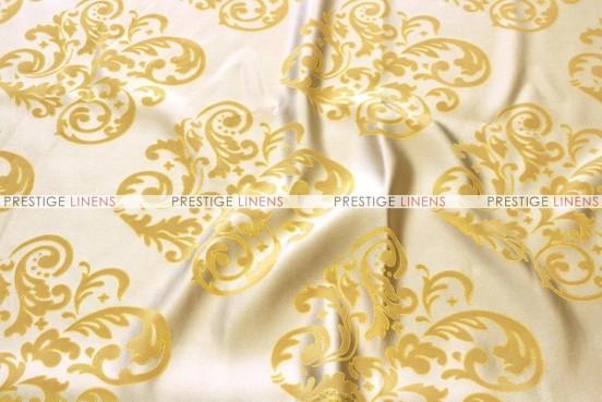 Insignia Jacquard - Fabric by the yard - Mustard