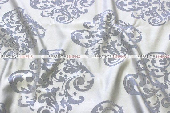 Insignia Jacquard - Fabric by the yard - Silver