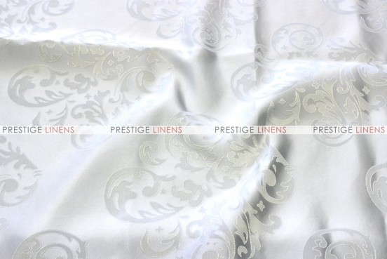 Insignia Jacquard - Fabric by the yard - White
