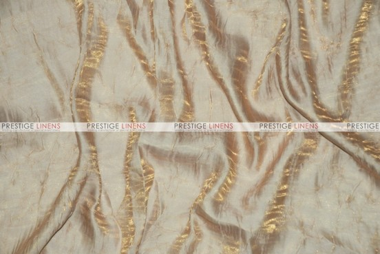 Iridescent Crush - Fabric by the yard - Champagne