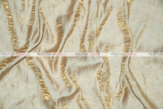 Iridescent Crush - Fabric by the yard - Lt Gold