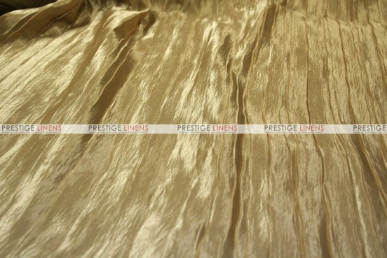 Italian Crush Satin - Fabric by the yard - Champagne