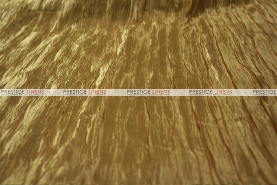 Italian Crush Satin - Fabric by the yard - Gold