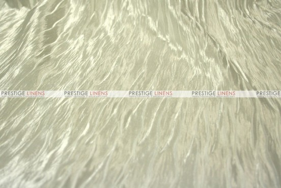 Italian Crush Satin - Fabric by the yard - Ivory
