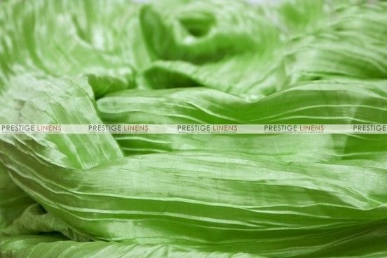 Italian Crush Satin - Fabric by the yard - Lime