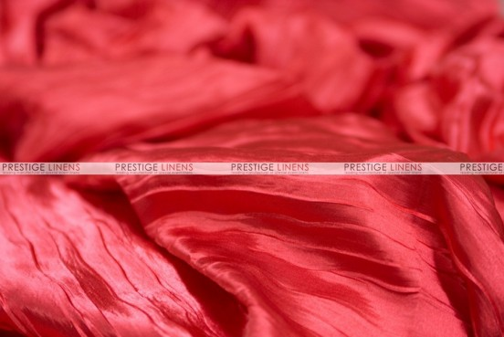 Italian Crush Satin - Fabric by the yard - Red