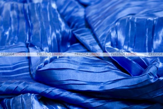 Italian Crush Satin - Fabric by the yard - Royal
