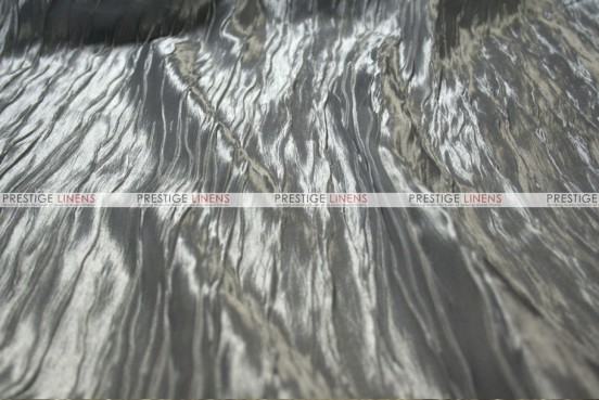 Italian Crush Satin - Fabric by the yard - Silver