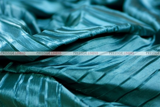 Italian Crush Satin - Fabric by the yard - Teal