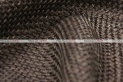Jute Linen - Fabric by the yard - Brown