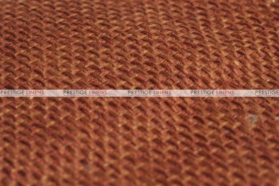 Jute Linen - Fabric by the yard - Copper