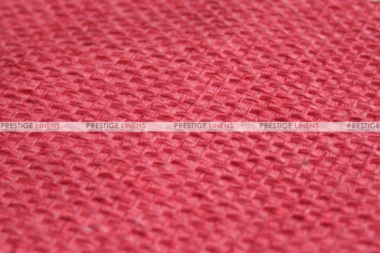 Jute Linen - Fabric by the yard - Coral
