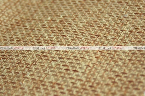 Jute Linen - Fabric by the yard - Gold