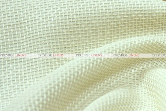 Jute Linen - Fabric by the yard - Ivory