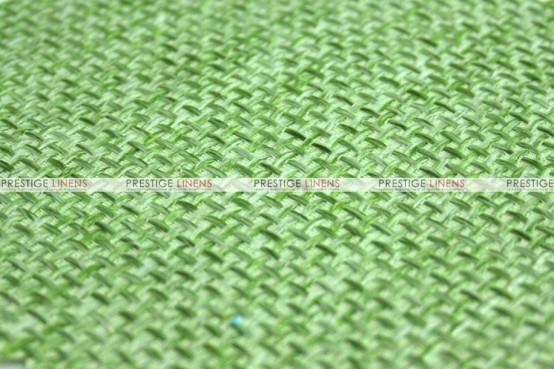 Jute Linen - Fabric by the yard - Lime