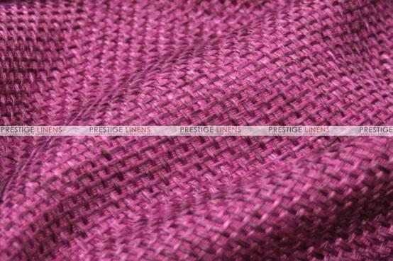 Jute Linen - Fabric by the yard - Magenta