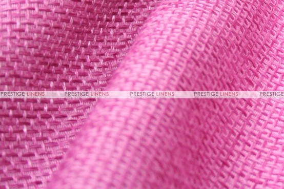 Jute Linen - Fabric by the yard - Rose