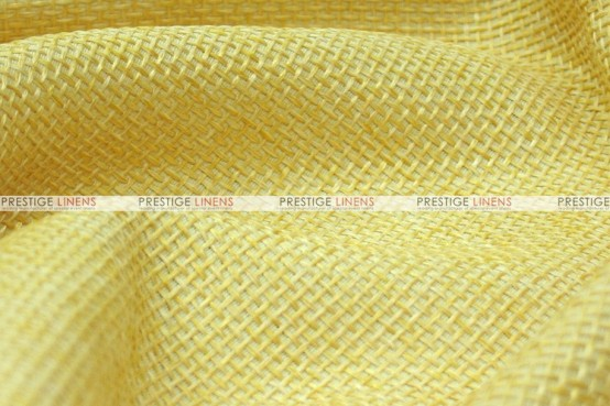 Jute Linen - Fabric by the yard - Sungold
