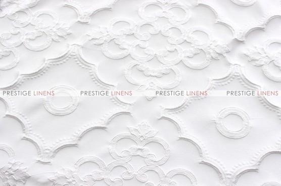 Lacoste - Fabric by the yard - White