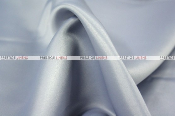 Lamour Matte Satin - Fabric by the yard - 1126 Silver