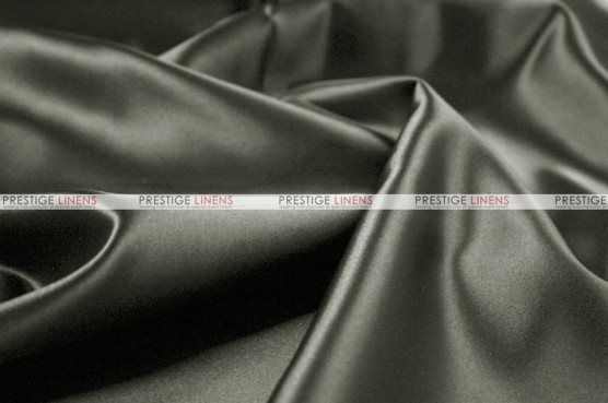 Lamour Matte Satin - Fabric by the yard - 1128 Grey