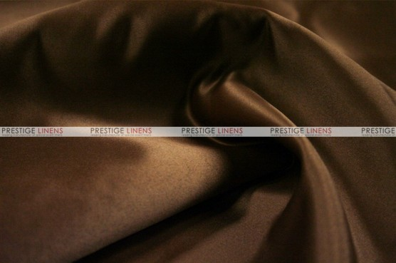 Lamour Matte Satin - Fabric by the yard - 333 Brown