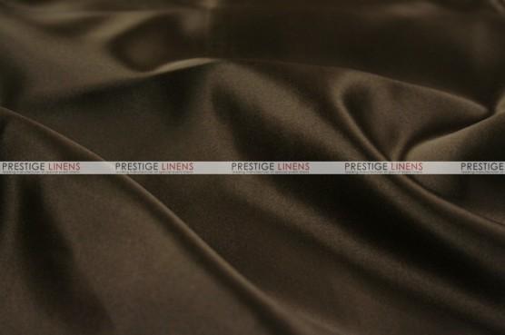 Lamour Matte Satin - Fabric by the yard - 348 Chocolate