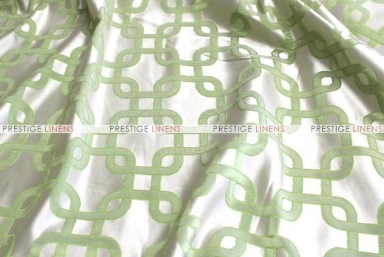 Links Jacquard - Fabric by the yard - Apple