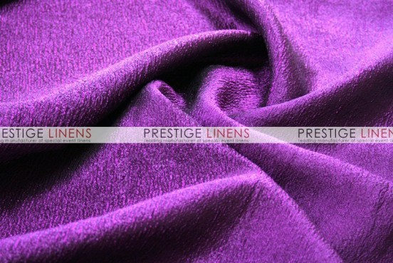 Luxury Textured Satin - Fabric by the yard - Amethyst