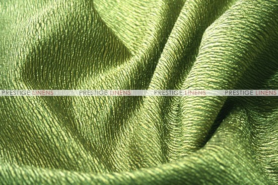 Luxury Textured Satin - Fabric by the yard - Apple