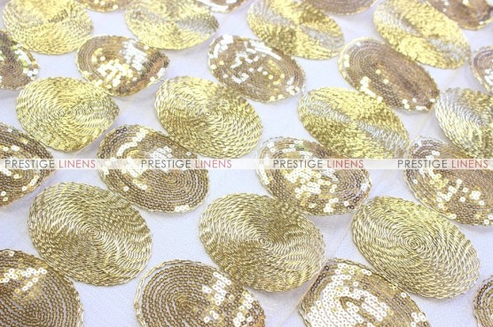 Maze - Fabric by the yard - Gold