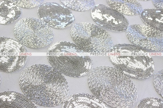 Maze - Fabric by the yard - Silver