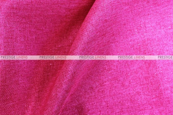 Metallic Linen - Fabric by the yard - Berry